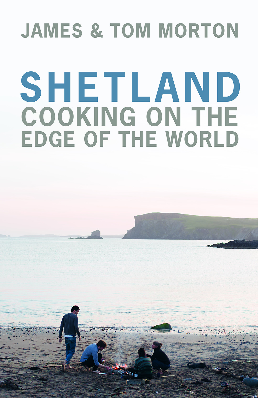 James morton shetland cokoing on the edge of the world book cover